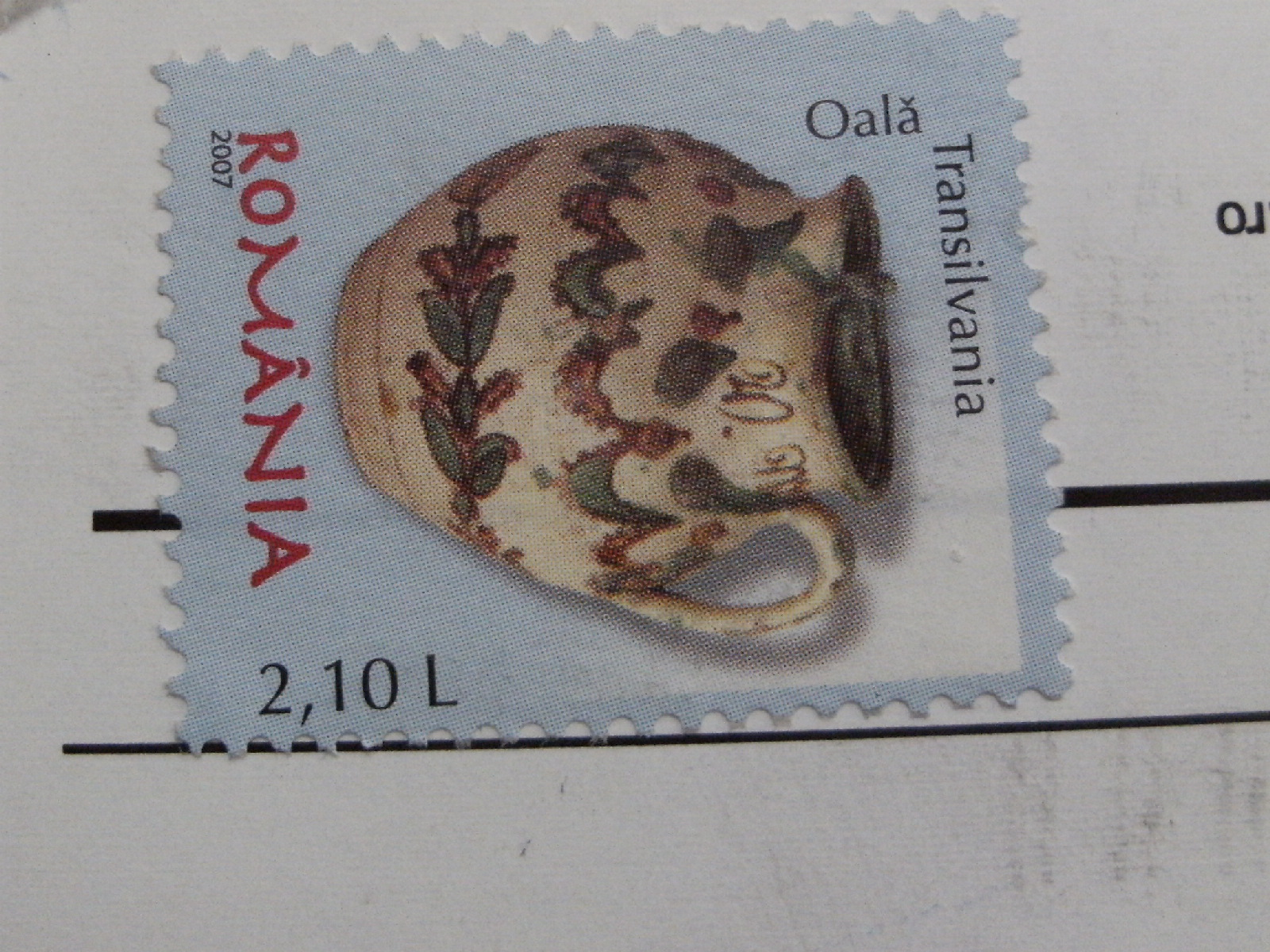 Romania_stamp